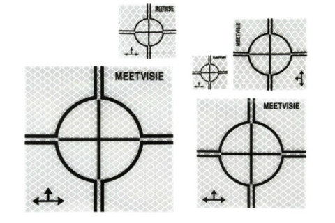 Meetvisie stickers 30x30mm